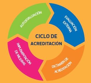 etapas acreditación