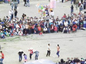 En el campo ferial se terminan las actividades comerciales con una celebración