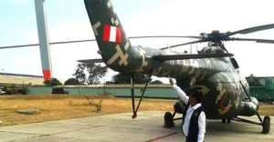 AQL Tumbes helicoptero