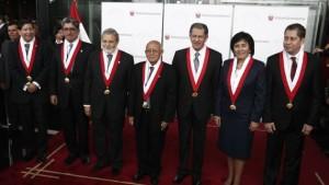JURAMENTACION DE LOS SEIS NUEVOS MAGISTRADOS DEL TRIBUNAL CONSTITUCIONAL