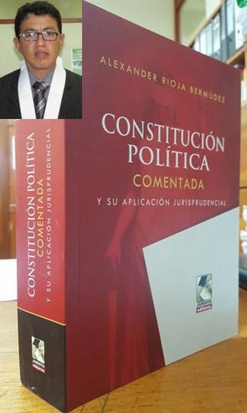 DERECHO PROCESAL CONSTITUCIONAL: ALEXANDER RIOJA BERMUDEZ
