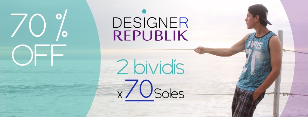 Designer Republik - bividís 100 % algodón para hombres