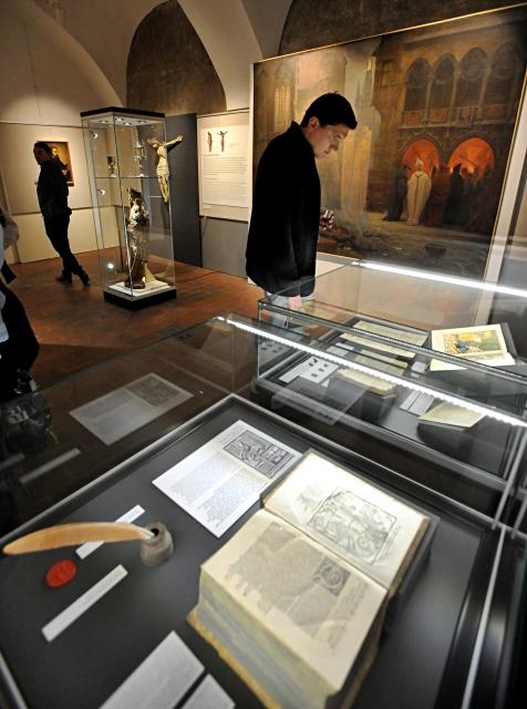 Jan Hus, výstava