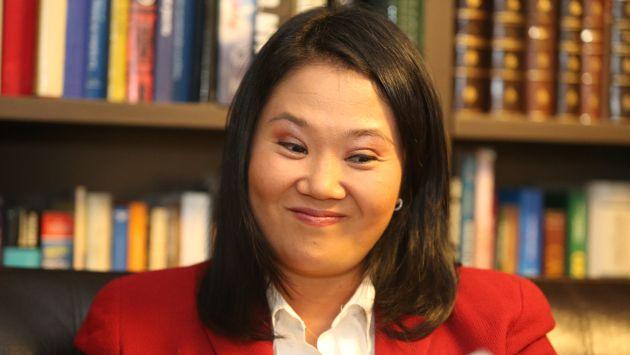 Este es el rostro que podría mantener Keiko Fujimori si sectores progresistas siguen como están.