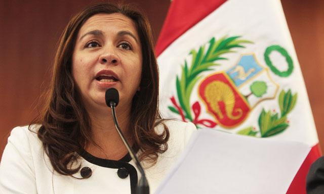 Vicepresidenta de la República Marisol Espinoza Cruz.