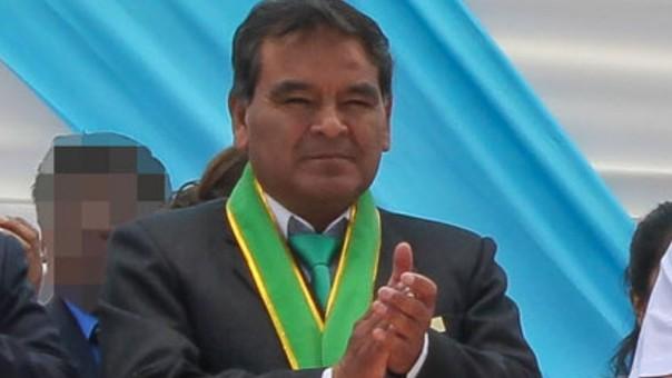 Alcalde del distrito de Pocollay permanecerá 7 meses en prisión por cobrar coima. | Fuente: RPP/Edgar Romero