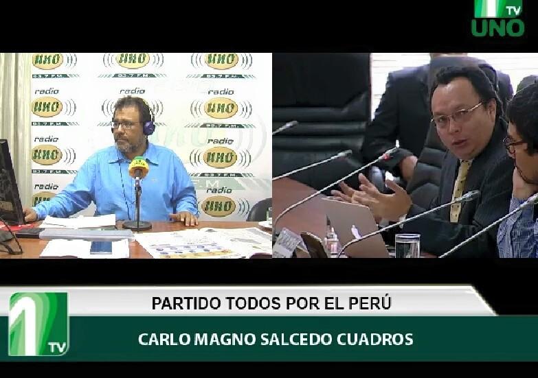 Carlo Magno Salcedo se sumó al equipo de Todos por el Perú.