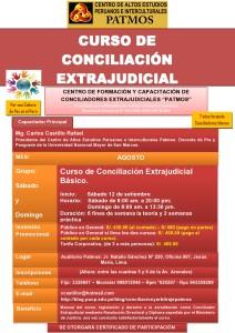 banner CURSO DE CONCILIACION EXTRAJUDICIAL - setiembre - 2015-page0001
