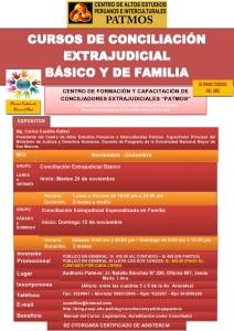 banner CURSO DE CONCILIACION EXTRAJUDICIAL - NOVIEMBRE 2015-