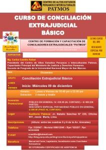 banner CURSO DE CONCILIACION EXTRAJUDICIAL - DICIEMBRE 2015-
