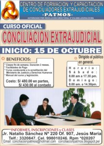 CURSO DE CONCILIACION BASICO solo -OCTUBRE