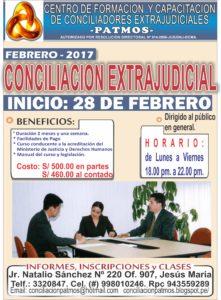CURSO DE CONCILIACION BASICO solo -febrero 2017