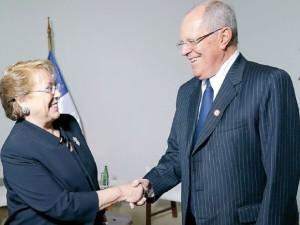PPK y Bachelet