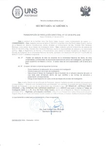 Resolucion aprobacion de asesoria