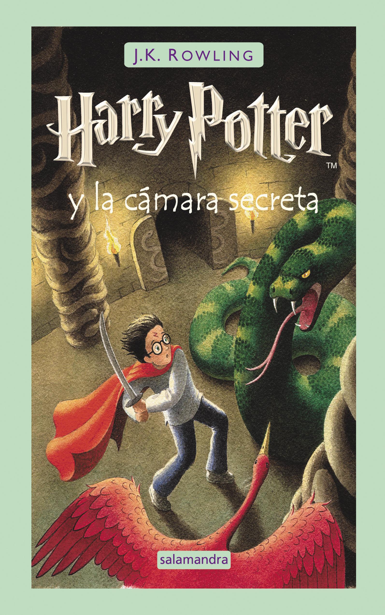 Harry Potter y la cámara secreta – J. K. Rowling