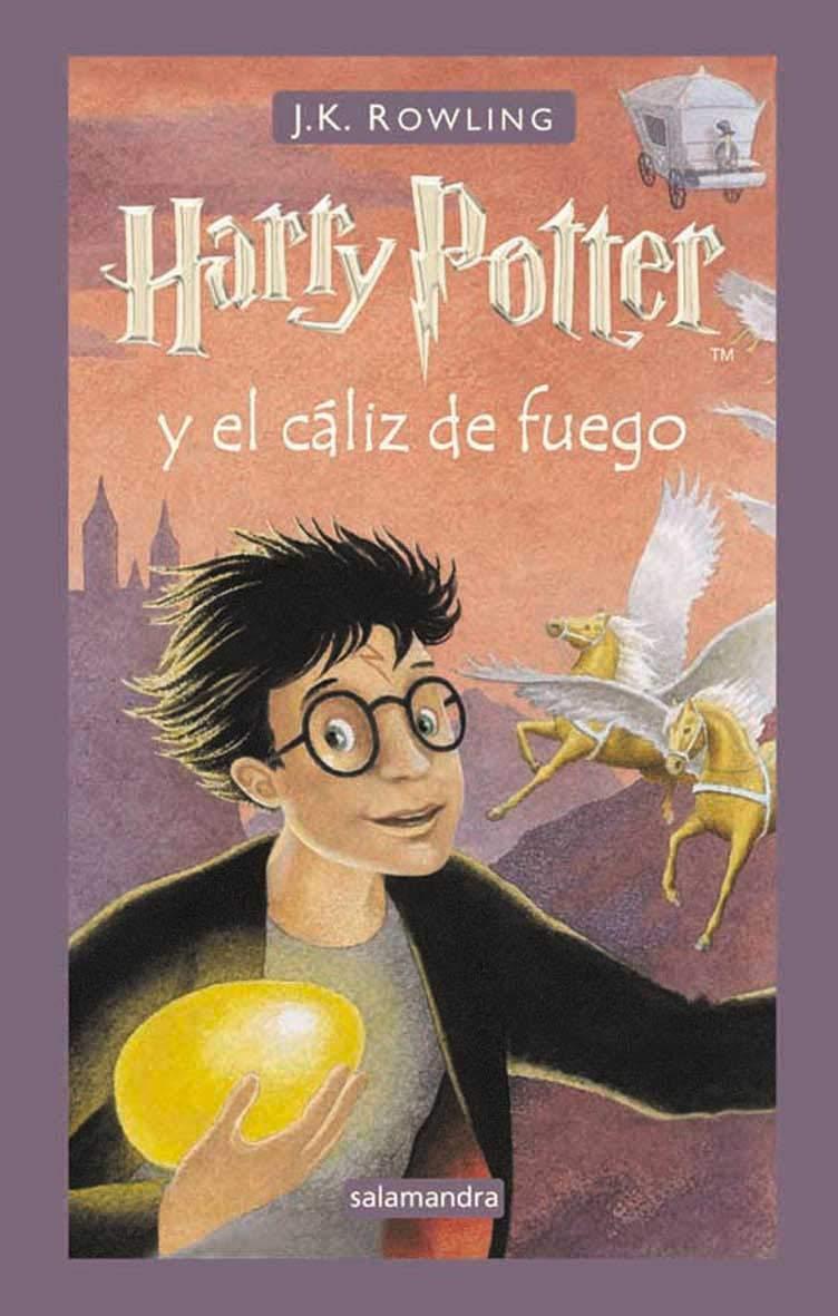 Harry Potter y el cáliz de fuego – J. K. Rowling
