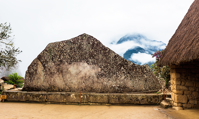 roca sagrada de machu picchu cusco