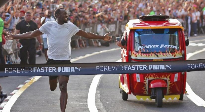 Usain Bolt en Lima Peru