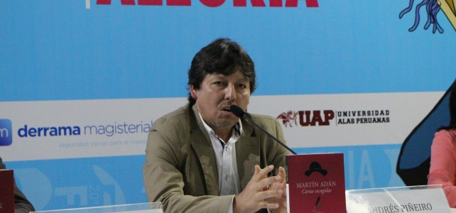 """""""Un poema te puede cambiar la vida"""", dice Andrés Piñeiro"""