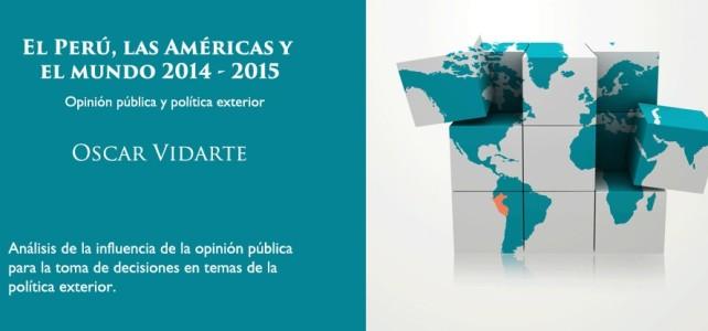 """""""Cuando analizamos la relación con países vecinos; con Chile, es siempre la más difícil"""", dice Oscar Vidarte"""