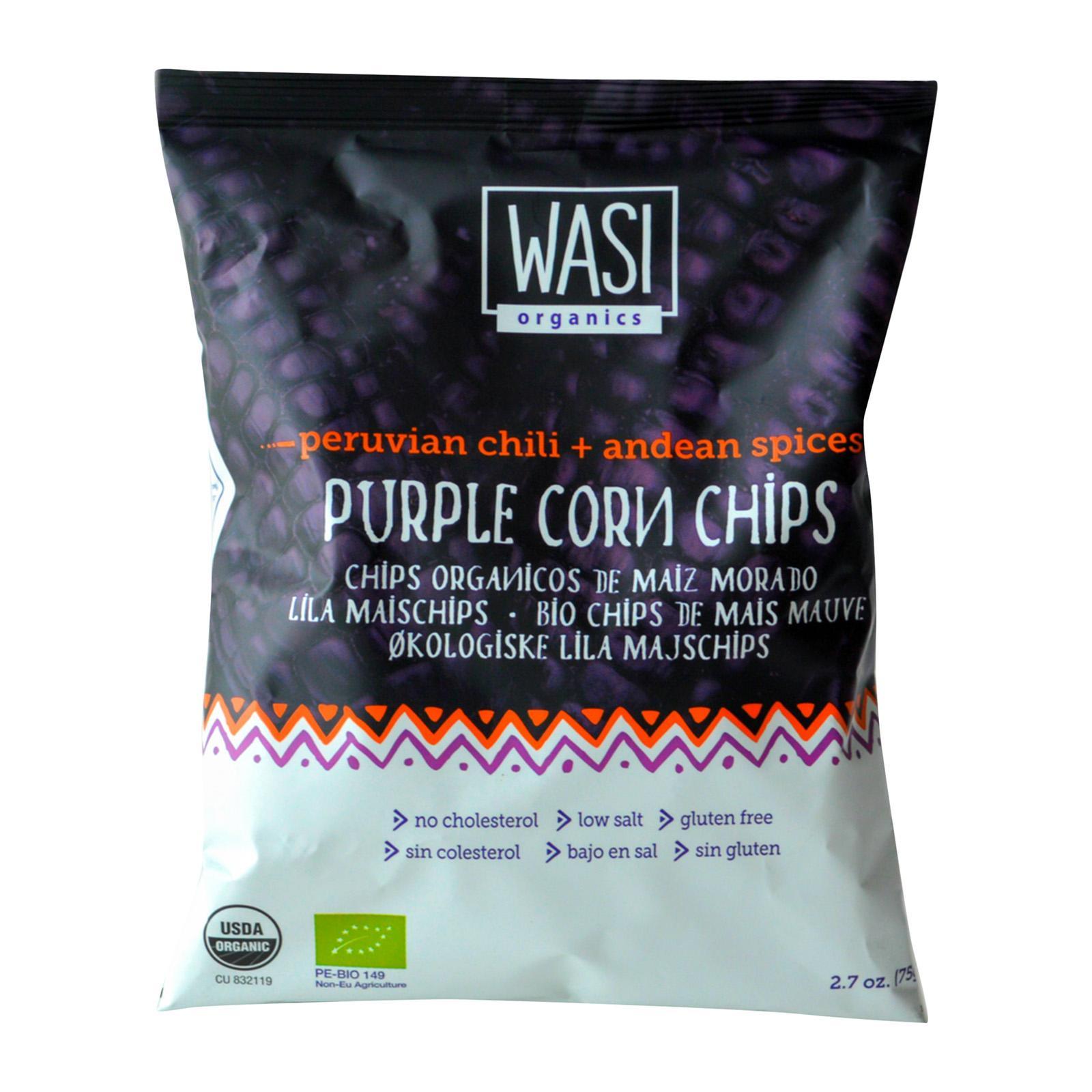 Purple Corn Chips - Wasi Organics