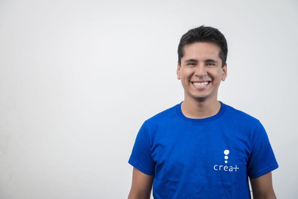 Daniel Paredes, Director General de CREA+