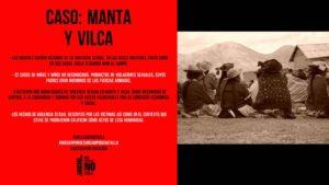 Manta y Vilca cuadro