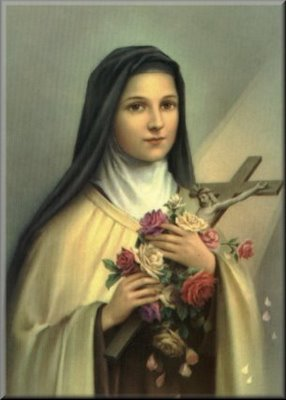 santa teresa del niño jesus krouillong comunion en la mano