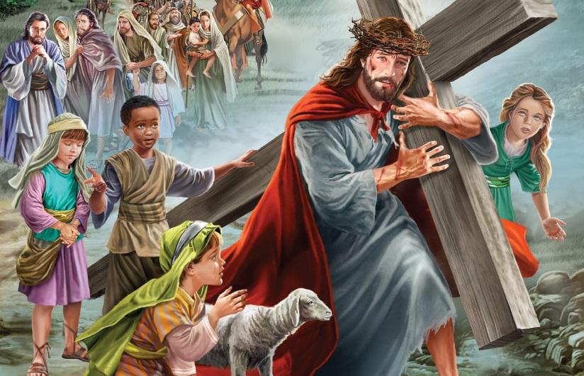 semana santa krouillong comunion en la mano