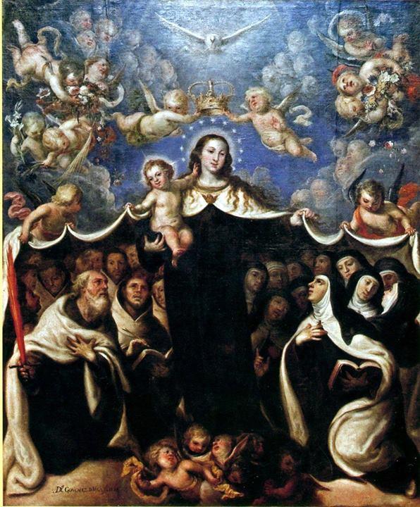 promesa santo escapulario virgen del carmen nuestra señora del monte carmelo krouillong comunion en la mano