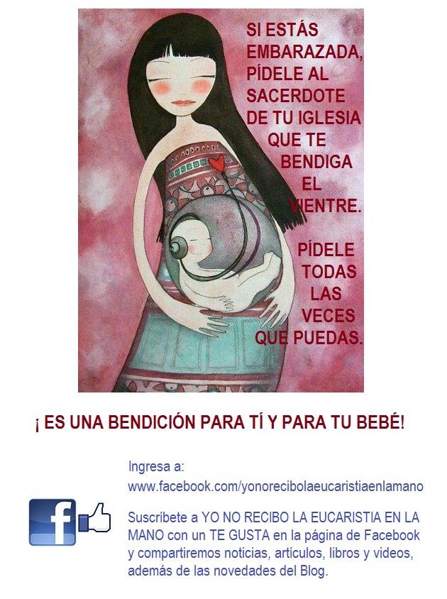 Face Bendicion para Embarazadas
