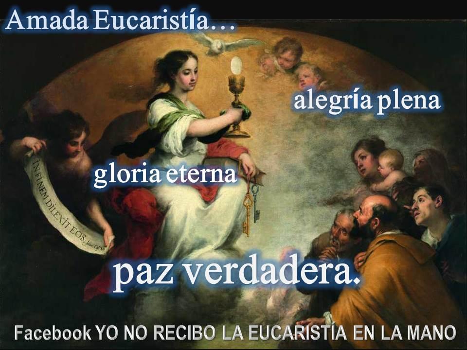 sagrada eucaristia krouillong comunion en la mano