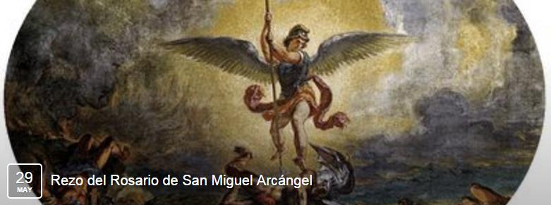 rosario de san miguel arcangel krouillong comunion en la mano