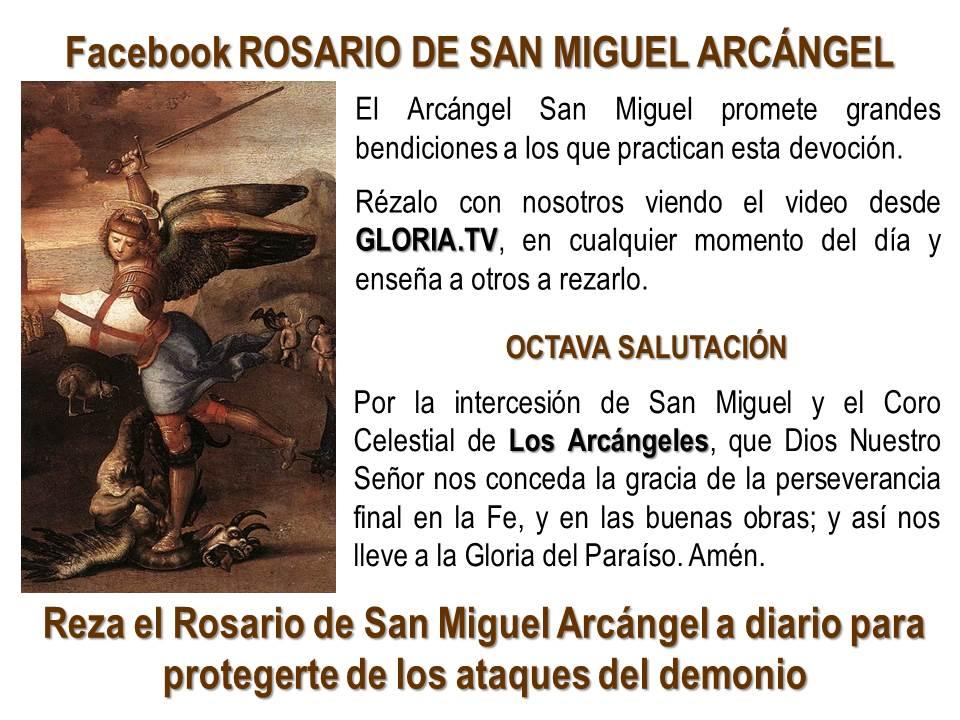 salutaciones rosario de san miguel arcangel krouillong comunion en la mano