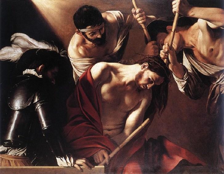 jesus coronacion de espinas krouillong comunion en la mano