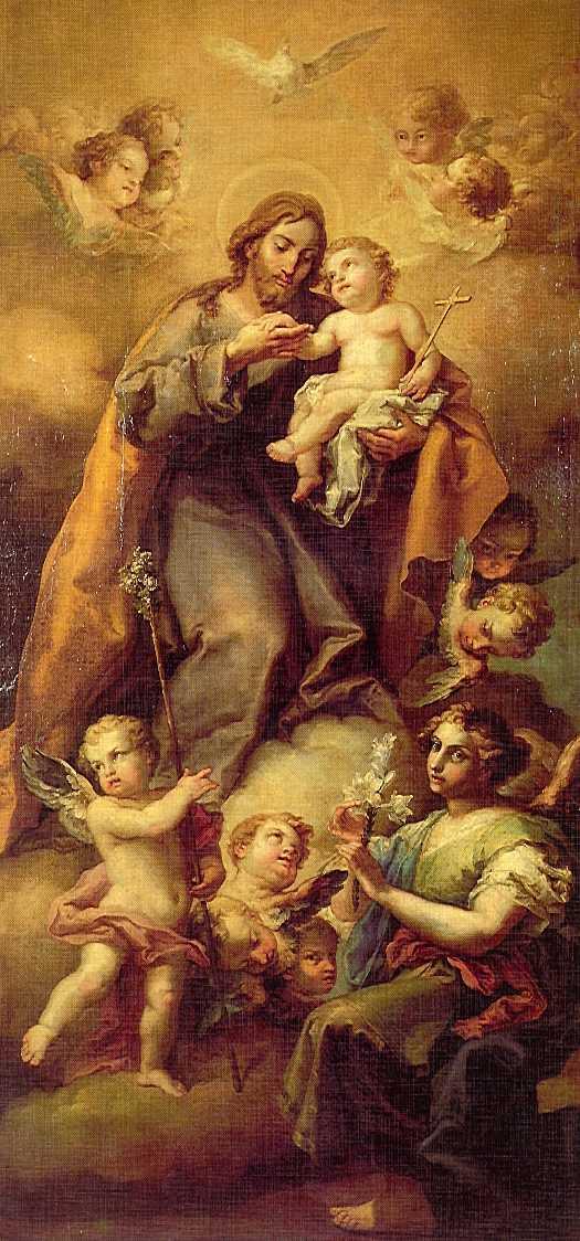patriarca san jose krouillong comunion en la mano
