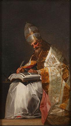 san gregorio magno papa krouillong comunion en la mano