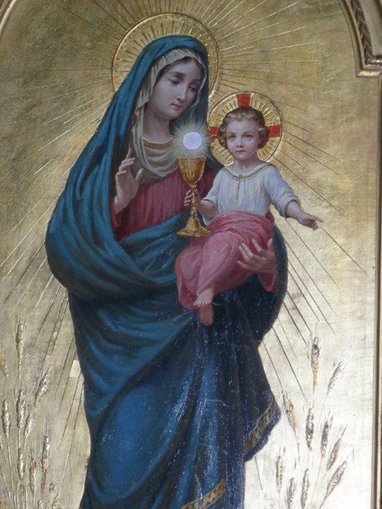 santa maria madre de la eucaristia krouillong comunion en la mano sacrilegio