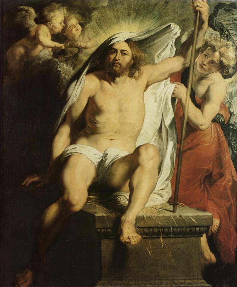 Cristo Resucitado Peter Paul Rubens krouillong comunion en la mano sacrilegio