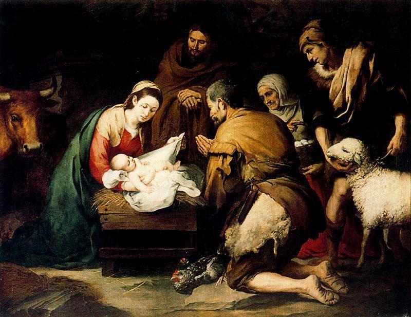 Natividad del Señor Murillo krouillong comunion en la mano sacrilegio