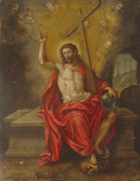 Pascua de Resurreccion krouillong comunion en la mano sacrilegio 3 Cristo Resucitado