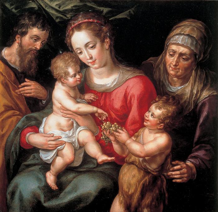 Resultado de imagen para Sagrada Familia, donde esta Nuestra Señora, pinturas