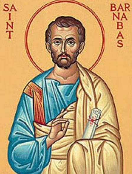 San Bernabe apostol de San Pablo krouillong comunion en la mano sacrilegio