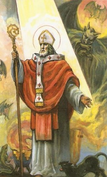 San Cipriano krouillong comunion en la mano sacrilegio 2