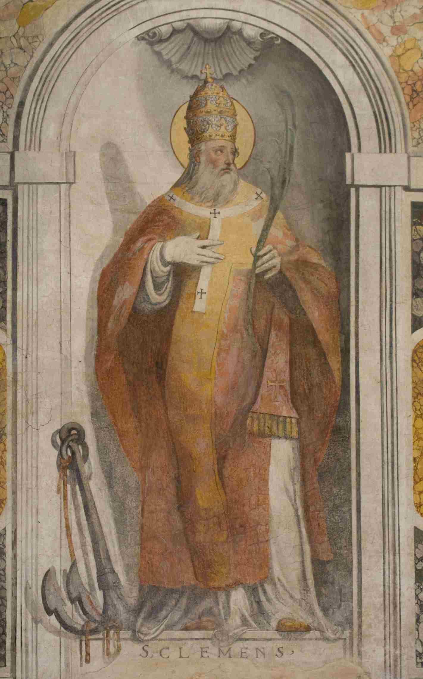 San Clemente Papa krouillong comunion en la mano sacrilegio