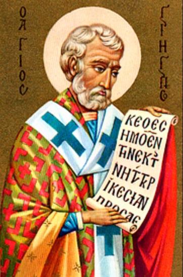 San Gregorio Nacianceno krouillong comunion en la mano sacrilegio 2