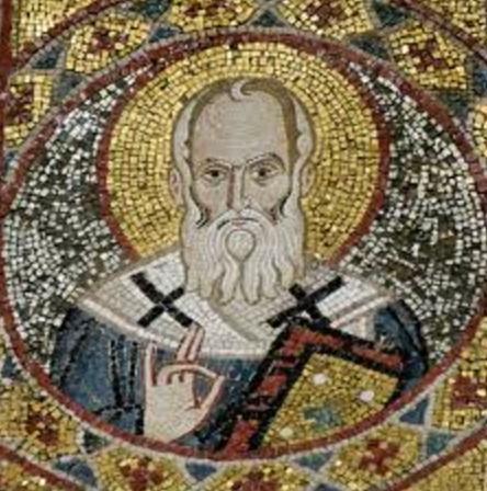 San Gregorio Nacianceno krouillong comunion en la mano sacrilegio