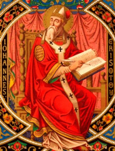San Juan Crisostomo krouillong comunion en la mano sacrilegio 2