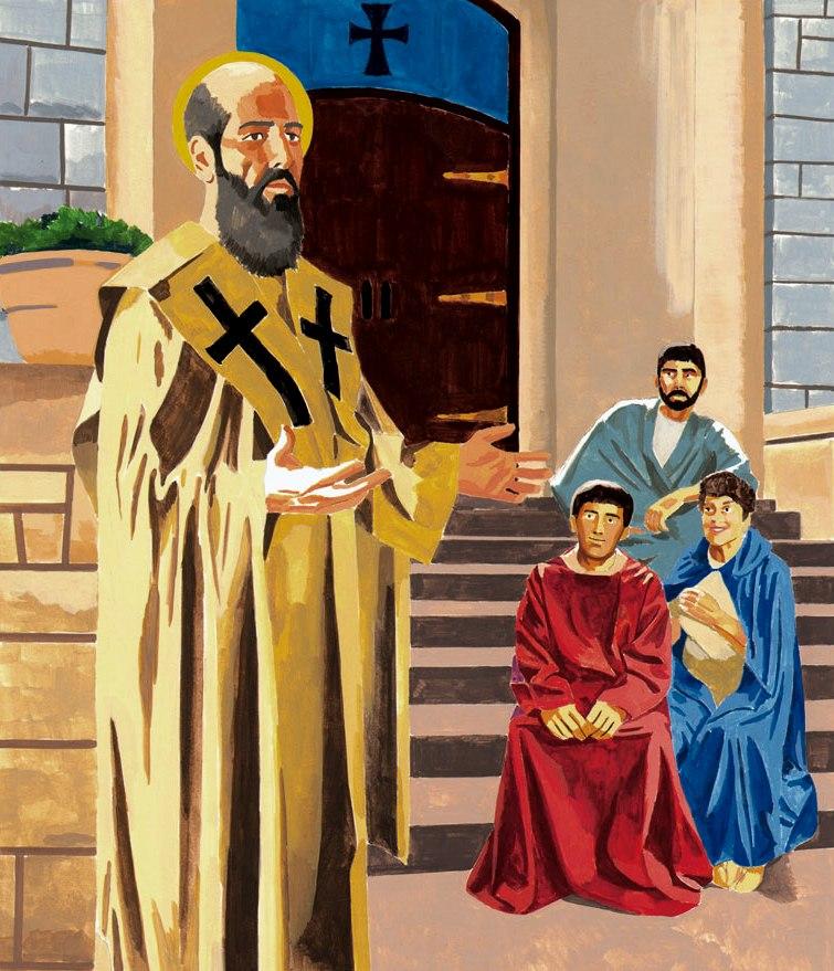 San Juan Crisostomo krouillong comunion en la mano sacrilegio 5