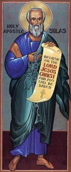 San Silas Apostol discipulo de San Pablo krouillong comunion en la mano sacrilegio